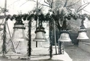 Vier neue Glocken