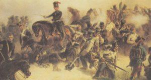 Prinz Friedrich Karl im Gefecht