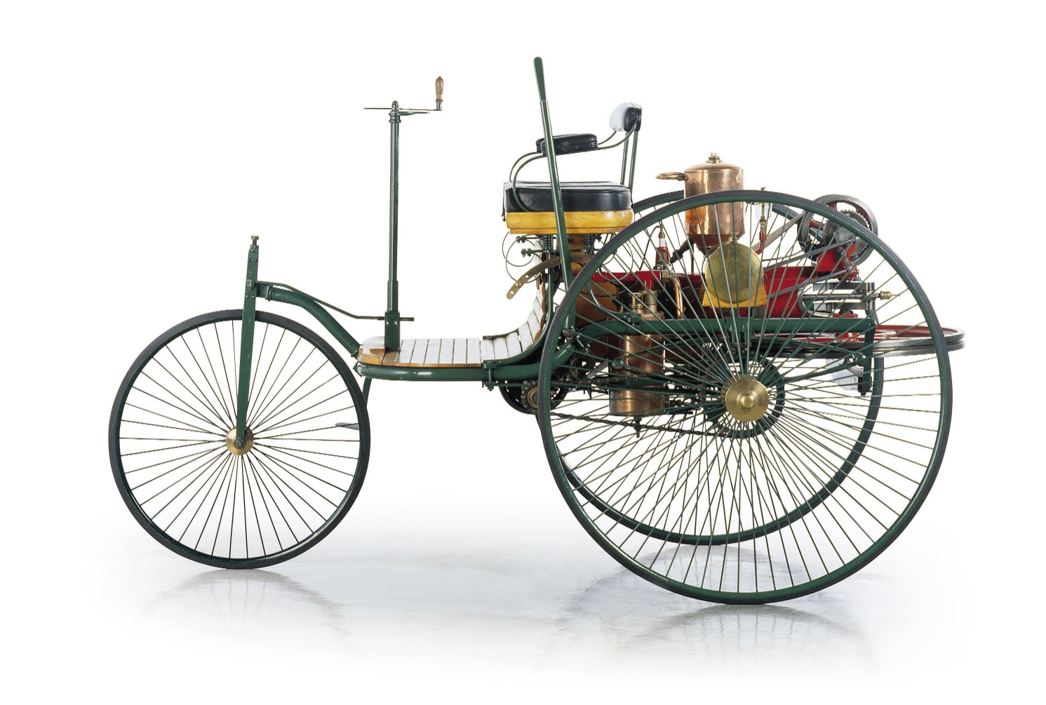Patent Motorwagen Nr.1 Benz 2. Foto: Daimler AG