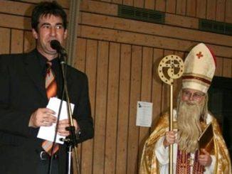 Begrüßung des Nikolaus 2007