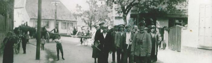 Erinnerungen an die Weiherer Hauptstraße der 1950er Jahre