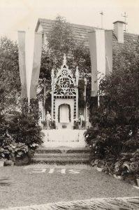 Fronleichnam 1965 Altar Brunnenstr.