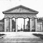 Ettlinger Tor in den 1860er Jahren