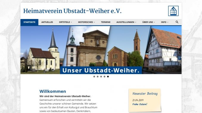 Homepage Heimatverein Ubstadt-Weiher e.V.