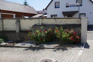 Hirschstr. Nr. 20 Alte Friedhofsmauer