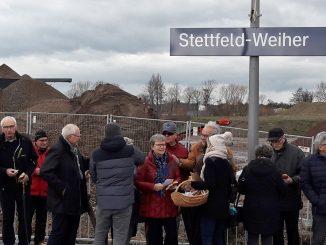 Eröffnung S-Bahn Stettfeld-Weiher