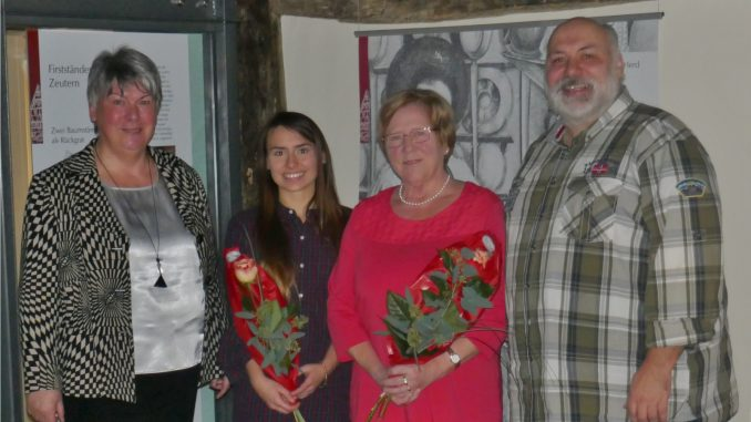 Von links nach rechts: Ursula Hohl, Désirée Mannek, Irene Klein, Christian Mannek