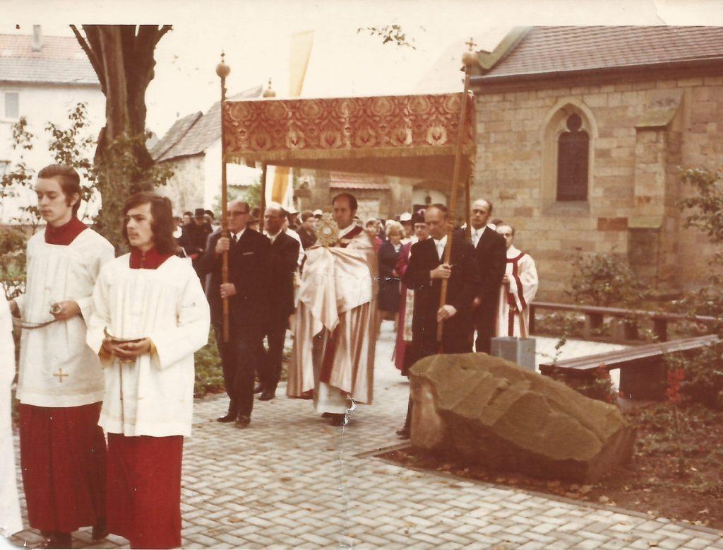 Fronleichnam Pater Braun. Foto: Luise Simon