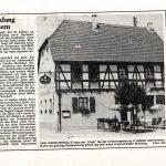 """Gaststätte """"Zum Engel"""", 16.03.1989"""