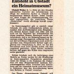 Gespräche des AK mit Bürgermeister, 14.08.1989