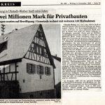 Privatbauten, 08.12.1989