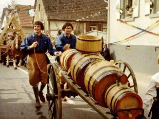 Jubiläumsumzug 1200 Jahre Zeutern. Foto: Theodor Stengel