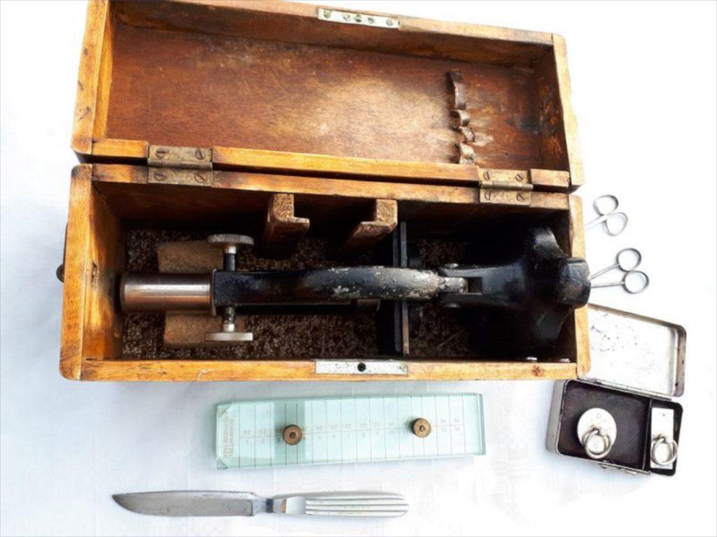 Koffer mit Ausrüstung. Foto: HV