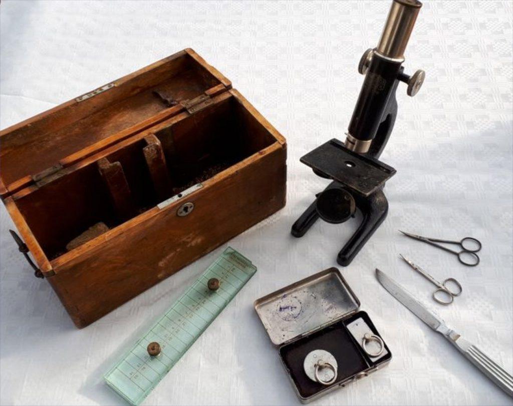 Mikroskop. Foto: HV